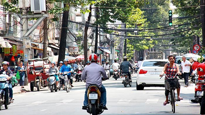 Saigon streetview Vietnam